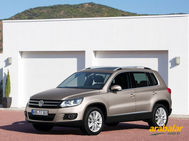 2012 Volkswagen Tiguan 1.4 TSI White Night BMT