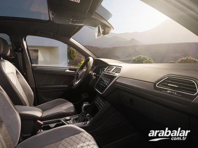 2021 Volkswagen Tiguan 1.5 Life DSG Teknik Özellikleri ve ...