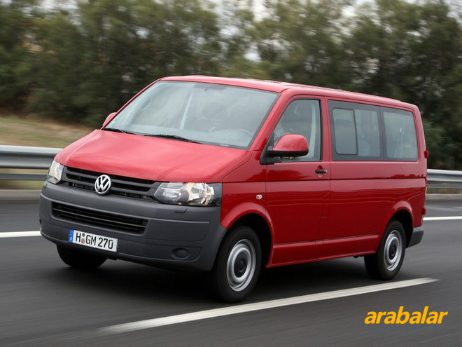 2011 Volkswagen Transporter City Van 2.0 TDI 102 PS