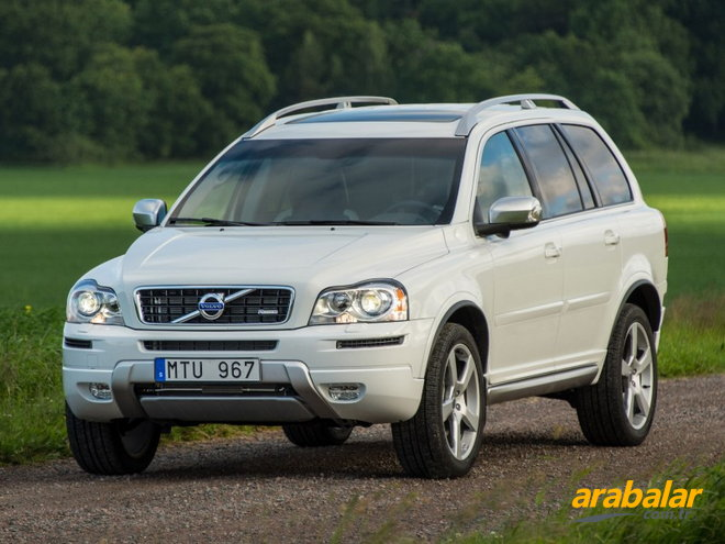 2013 Volvo XC90 2.4 D D5 AWD R-Design Geartronic 7K